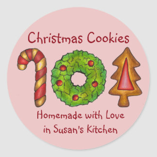 Homemade Christmas Cookies Labels