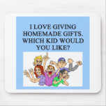 homemade christmas gifts mouse pad