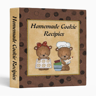 Homemade Cookie recipies Binder