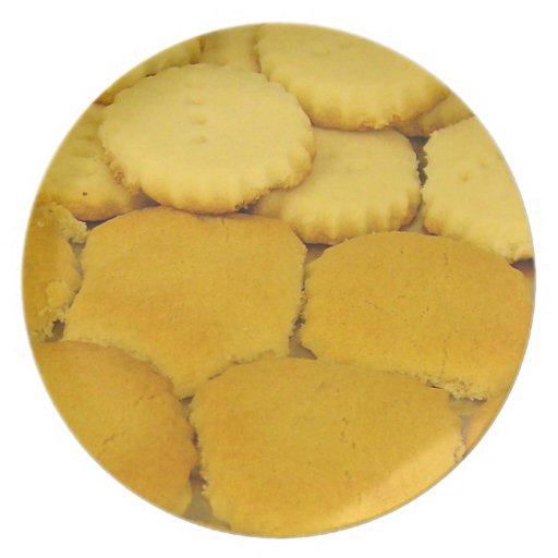 Homemade Cookies Plate