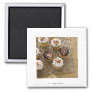 Homemade cupcakes 2 inch square magnet