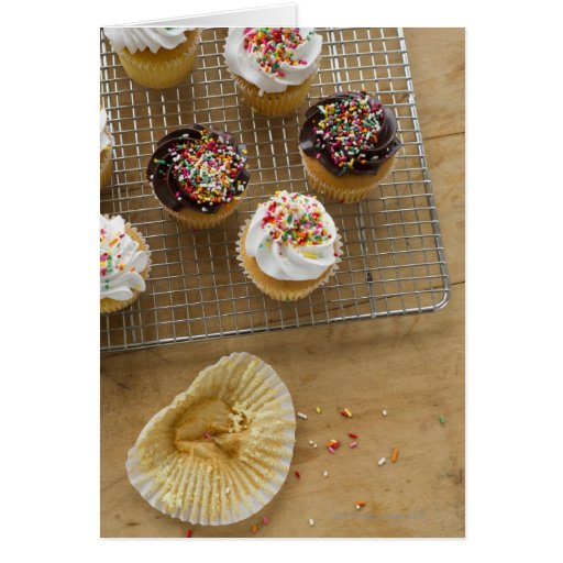 Homemade cupcakes card