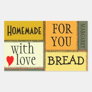 Homemade Food-Personalize It Rectangular Sticker