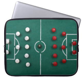 homemade football field vintage sport toy computer sleeves
