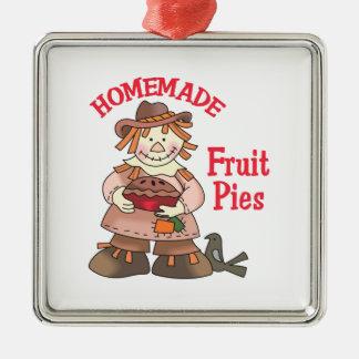 HOMEMADE FRUIT PIES CHRISTMAS TREE ORNAMENT