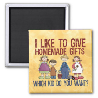 Homemade Gifts 2 Inch Square Magnet