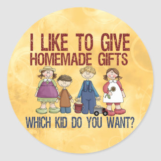 Homemade Gifts Sticker