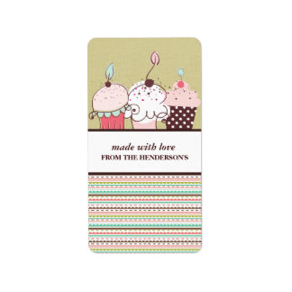 Homemade Goodies Gift Tag Stickers Address Label