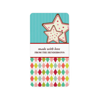 Homemade Goodies Gift Tag Stickers Custom Address Label