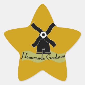 Homemade Goodness Product Star Sticker