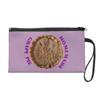 Homemade Grape Pie Wristlet Clutch