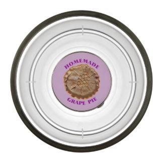 Homemade Grape Pie Bowl