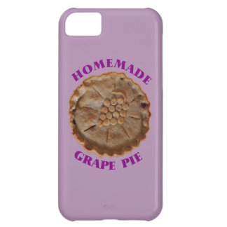 Homemade Grape Pie Cover For iPhone 5C