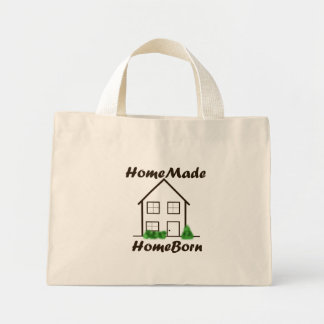 HomeMade, HomeBorn Mini Tote Bag