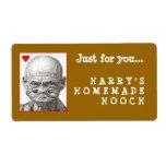 Homemade Hooch label