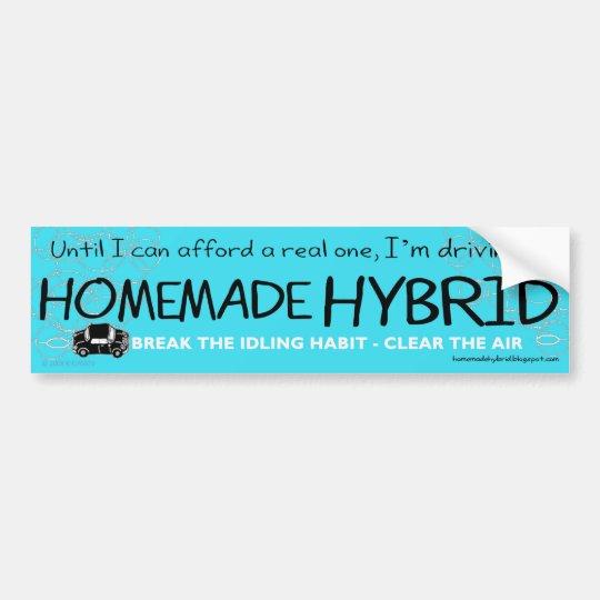 Homemade Hybrid Bumper Sticker