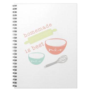 Homemade Is Best Notebook