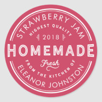 Homemade Jam / Jelly Label Fresh from Your Kitchen