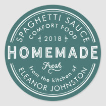 Homemade Jam / Jelly / Sauces Kitchen Label