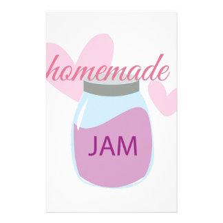 Homemade Jam Stationery