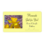 Homemade Just for You! Canning Gift Food Jar Label
