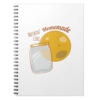 Homemade Moonshine Spiral Notebook