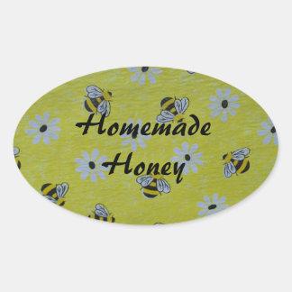 Homemade Organic Honey Canning Label