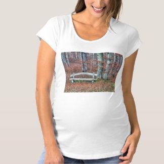 Homemade Park Bench Maternity T-Shirt