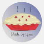 Homemade Pies Classic Round Sticker