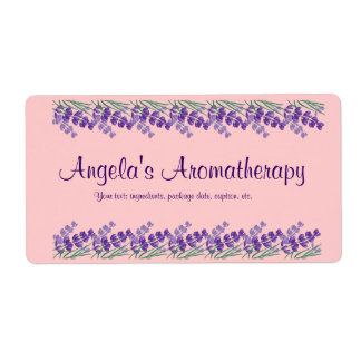 Homemade Potpourri Aromatherapy Label