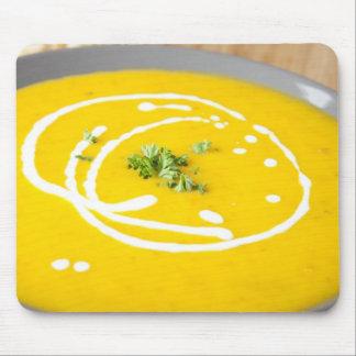 Homemade Pumpkin Soup Mouse Pad