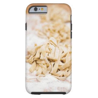 Homemade ribbon pasta, close up tough iPhone 6 case