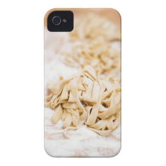 Homemade ribbon pasta, close up Case-Mate iPhone 4 case
