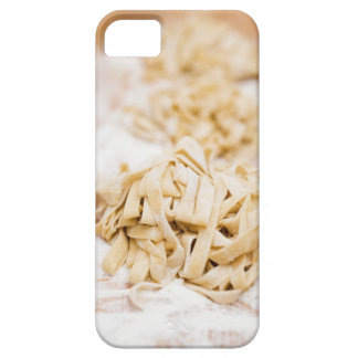 Homemade ribbon pasta, close up iPhone SE/5/5s case