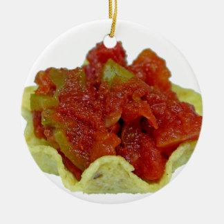 Homemade Salsa Ceramic Ornament