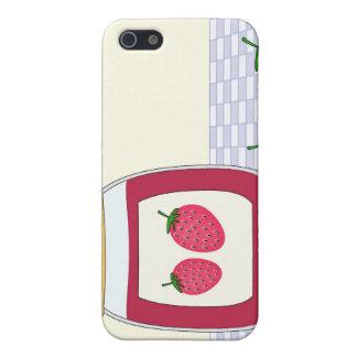 Homemade Strawberry Jam iPhone 5 Cases
