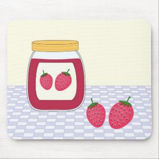 Homemade Strawberry Jam Mouse Pad