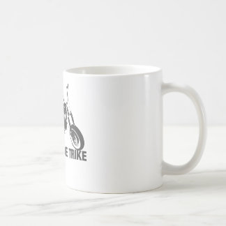 Homemade trike coffee mug