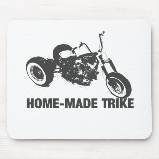 Homemade trike mouse pad