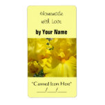 Homemade with Love custom Canning Jar Labels
