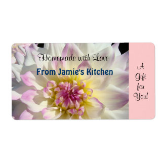 Homemade with Love labels From Your Name Kitchen