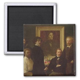 Homenaje a Delacroix 1864 Iman De Nevera