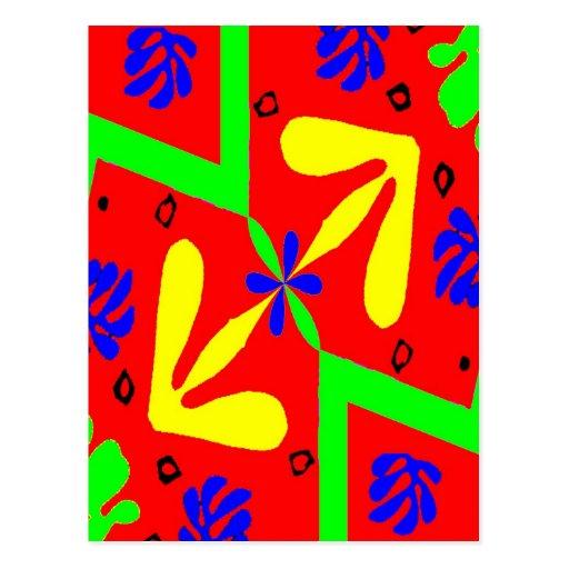 Homenaje a los diseños de Matisse Postales