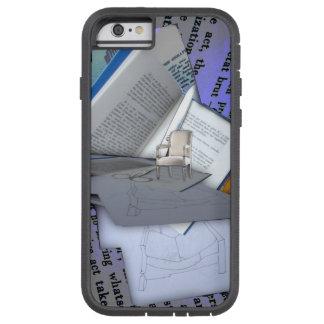 Homenaje al collage de Duchamp Dada - caso del Funda De iPhone 6 Tough Xtreme