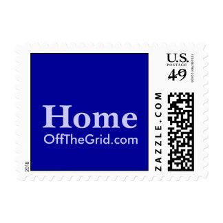 HomeOffTheGrid.com Postage Stamp