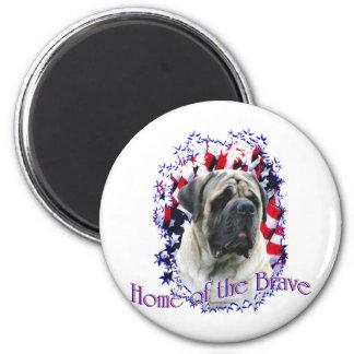 HomeoftheBrave 2 Inch Round Magnet