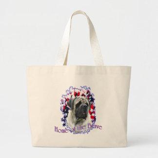 HomeoftheBrave Large Tote Bag