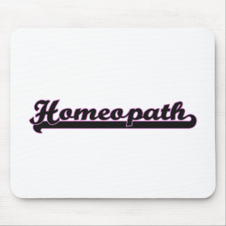 Homeopath Classic Job Design Mouse Pad