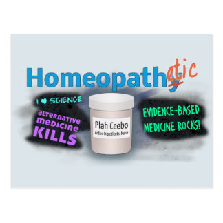 Homeopathetic Postcard