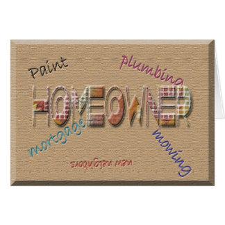 Homeowner Card